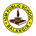 IDM PUBLIC SCHOOL logo - Abhijit Mishra